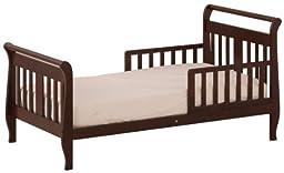 Stork Craft Soom Soom Toddler Bed, Cherry