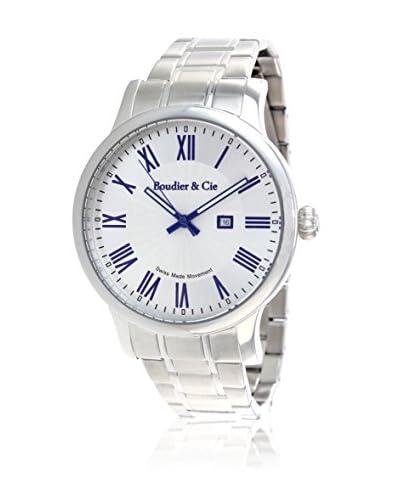 Boudier&Cie Reloj BSSM210 Blanco / Plata 36 mm