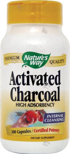 Nature'S Way Charcoal, Activated (100 X 2)