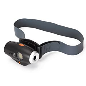 Pellor - Caméra vidéo d'action / caméra frontale pr casque avec écran LCD pour les sports extrêmes - étanche et antichoc - 640 × 480 - vous permet de connecter avec PC ou l'internet