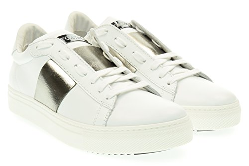 STOKTON uomo sneakers basse 650-U Bianco 43 Bianco