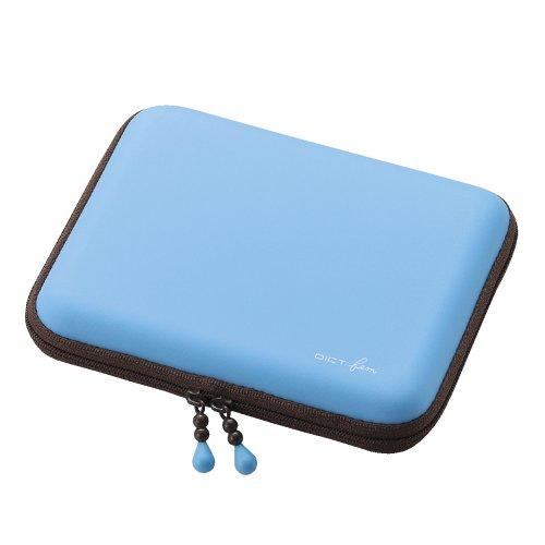 Elecom Dict. Electronic Dictionary Case Stylus Storage / Eva Semi Hard Type (Blue) Djc-009Bu (Japan Import)