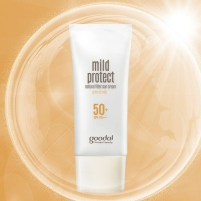 Best Cheap Deal for Goodal Mild Protect 50 Plus SPF Natural Filter Sun Cream, 1.7 Fluid Ounce by DK Cosmetics DBA Club Clio USA - Free 2 Day Shipping Available