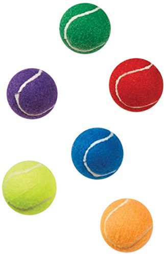 Zanies ZA7661 06 Puppy Pride Mini Tennis Balls 6-Pack