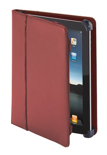 Cyber Acoustics Leather iPad 2 Cover (IC-1002RD)
