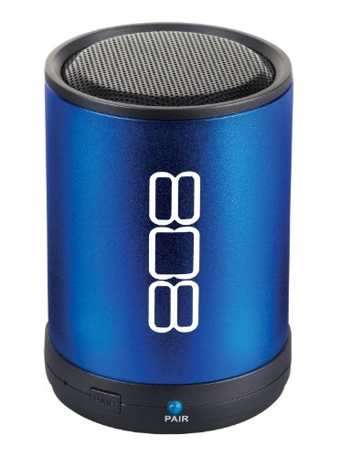 808 Canz Bluetooth Wireless Speaker - Blue (Sp880Bl)