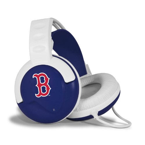 Pangea Brands Fan Jams Mlb Headphones - Boston Red Sox