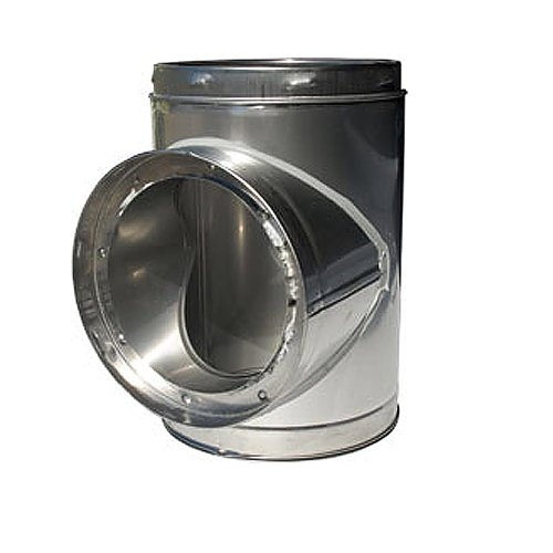 Chimney 77620 6 Inch Superpro Tee Insulated With Plug (Insulated Chimney Plug compare prices)