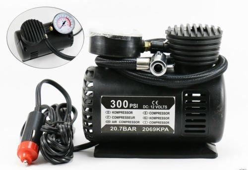 Trioflextech Air Pump Compressor 12V Electric Car Bike Tyre Tire Inflator (Air Compressor)