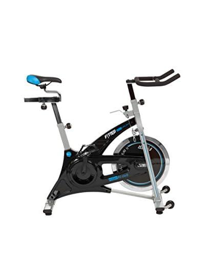 FYTTER Bicicleta Indoor Con 20 Kg Rueda Inercia Y Cadena Rider Ri-06B Gris