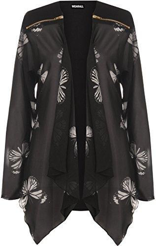 grande-taille-pour-femmes-mousseline-manches-longues-imprime-papillon-cardigan-zippe-haut-femme-synt