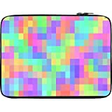 Snoogg Pattern Digital Cubes 2423 12 To 12.6 Inch Laptop Netbook Notebook Slipcase Sleeve
