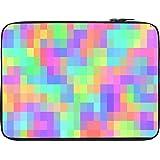 Snoogg Pattern Digital Cubes 2423 13 To 13.6 Inch Laptop Netbook Notebook Slipcase Sleeve