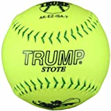 Trump® AK-EZ-ISA-Y AK-EZ Series 12 Inch Synthetic Leather .44 Core ISA Softball (Sold in Dozens)