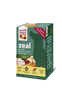 The Honest Kitchen Zeal Gluten-Free Dog Food, 4-Ounce Trial