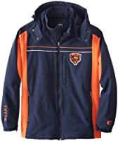 NFL Chicago Bears Full Zip Softshell With Detachable Hood Men's by G-III