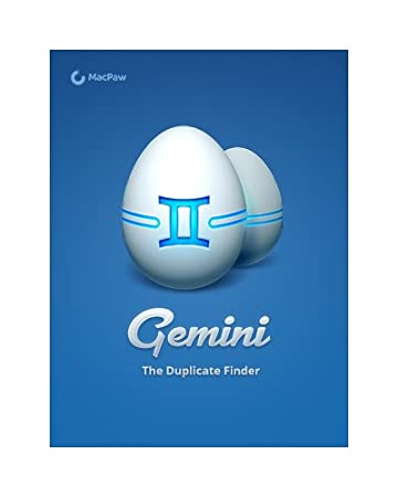 Gemini, The Duplicate Finder [Download]