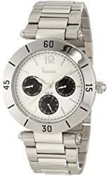 Freelook Women's HA1535M-1 Stainless Steel Silver Band, Silver Dial, Black Subdials, Stainless Stee Watch