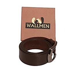 WALLMEN BLACK TRENDY WALLET AND BELT COMBO