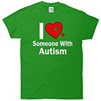 I Heart Someone With Autism T-Shirt