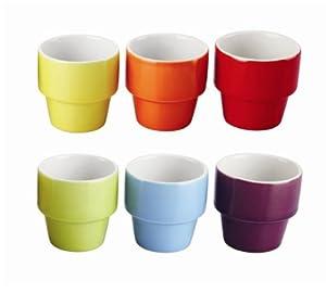 Colours' Egg Cup Set 120ml - Set Of 6