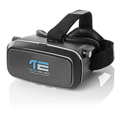 TechElec 3D VR Lunettes pour 3,5 à 5,5 Pouces Smartphones ( Noir )