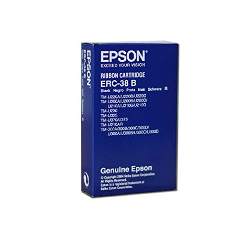 Epson Druckerfarbband ERC-38 für TM300A 300B 300C schwarz