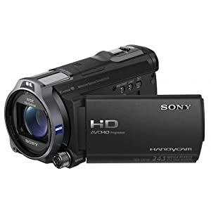 Sony HDR-CX730E Full-HD Camcorder (7,5 cm (3 Zoll) LCD-Display, 24 Megapixel, 10x opt. Zoom, 26mm Weitwinkel) EVF