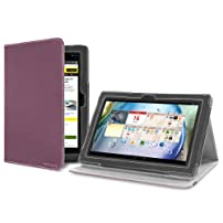 Version Stand Case for Lenovo IdeaTab S6000 - Purple