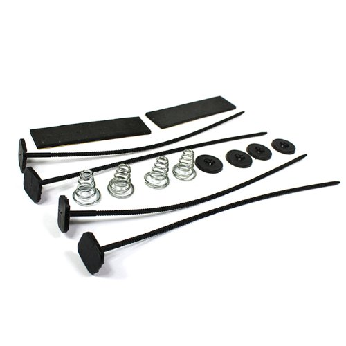 Universal 4-Sides Radiator Cooling Fan Mounting Kit (Side Mount Strap Pipe compare prices)