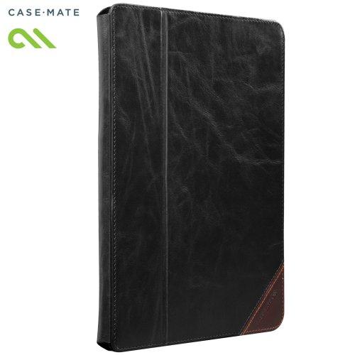 Case-Mate 日本正規品 iPad Retinaディスプレイモデル (第4世代) / iPad (第3世代) / iPad 2 対応 Signature Slim Stand Case, Black / Brown スタンド機能つき ブックタイプ 本革レザー ケース「Signature Slim Stand」 ブラック/ブラウン CM020419