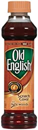 OLD ENGLISH 75462 Furniture Scratch Cover, For Light Wood, 8oz Bottle (Case of 6)