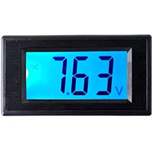 LCD Digital Volt Voltage Panel Meter Voltmeter 7.5V-20V
