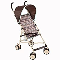 Disney Umbrella Stroller with Canopy, My Hunny Stripes from Disney Baby