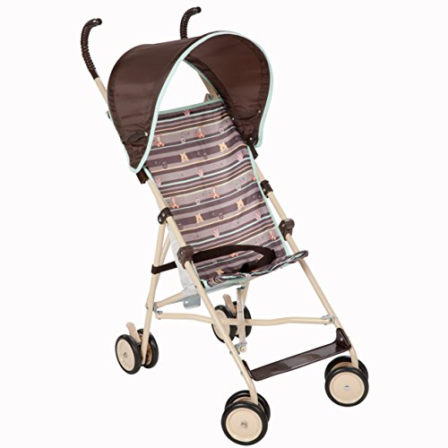 Disney Umbrella Stroller with Canopy, My Hunny Stripes  (Discontinued by Manufacturer)