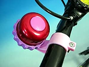 Filmer Fahrradglocke Drehring - Ideal für Kinder / Fahrrad Glocke Klingel (verschiedenfarbig vorsortiert), F-41017