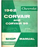 1962 Chevrolet Corvair Shop Service Repair Manual Book Engine Electrical OEM