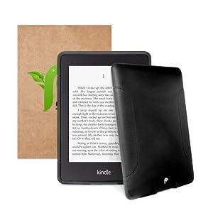 Fosmon Dura FRO Series (TPU) Semi Flex Skin Case for Amazon kindle Paperwhite / Paperwhite 3G, 6 inch eReader (Black)