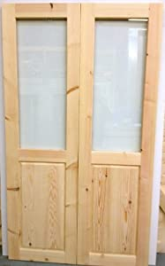 Softwood external french doors with frame style 1 2100mm for External french doors and frame
