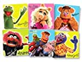 The Muppets Stickers 100 per roll