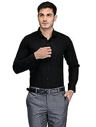 Harvest Black 100 % Cotton Shirt for Men