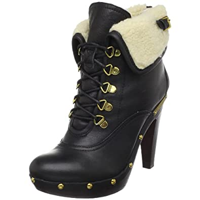 BCBGeneration Women's Melo Faux Shearling Ankle Boot Winter Shoes