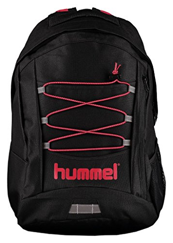Hummel - Zaino adulti New Nostalgia Tech Backpack, Black, 16 x 46 x 34 cm, 25 litri, 40 - 090 - 2001