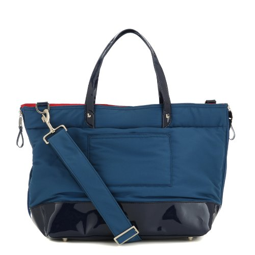 Danzo Diaper Nylon Tote, Cobalt Blue Nappy Bag