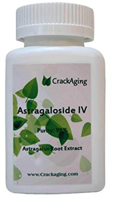 Astragaloside IV 98% --- anti-aging supplement (brand:crackaging)