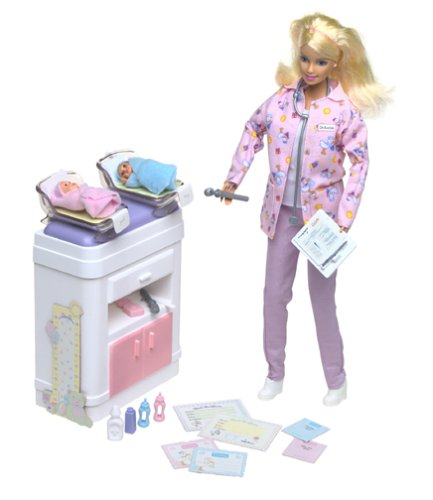Barbie Happy Family Baby Doctor front-984030