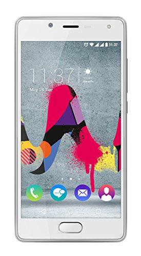 Wiko UFEEL  - Smartphone de 5'' (SIM doble, cámara de 8 MP, 16 GB), color rosa