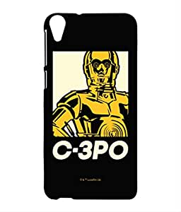 Block Print Company Iconic C3PO Phone Cover for HTC 820