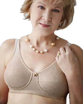 Mastectomy Bra The Rose Contour Size 32B Beige