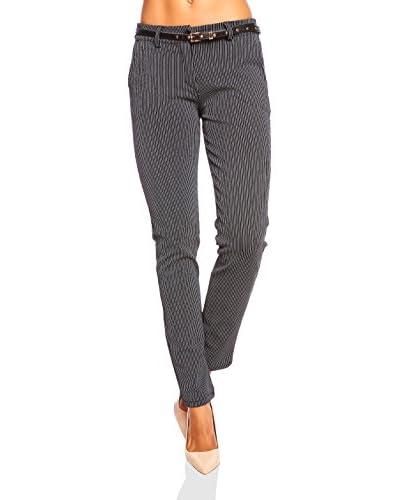 La Boheme Pantalone Ariane [Blu Scuro]